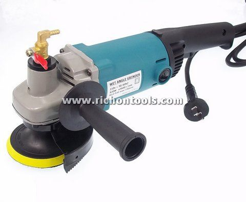 Stone Wet Angle Grinder Water Feed 150mm 110v Angle
