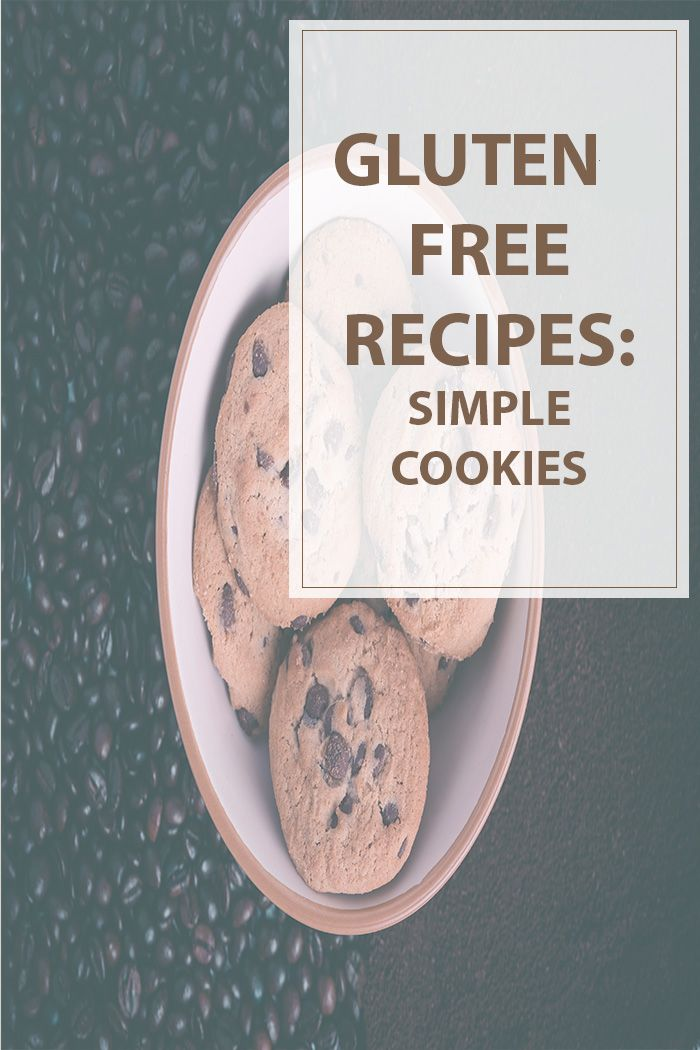 Gluten Free Cookies  The gluten free cookies are soft/chewy on the inside and…