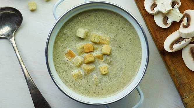 Did you always like mushrooms or were they an acquired taste? Either way, they make a fantastic soup! Try our recipe for Creamy Mushroom Soup.