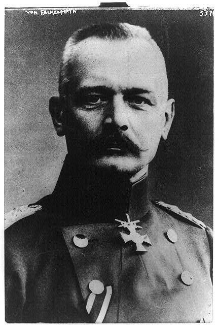 Erich von Falkenhayn, 1861-1922