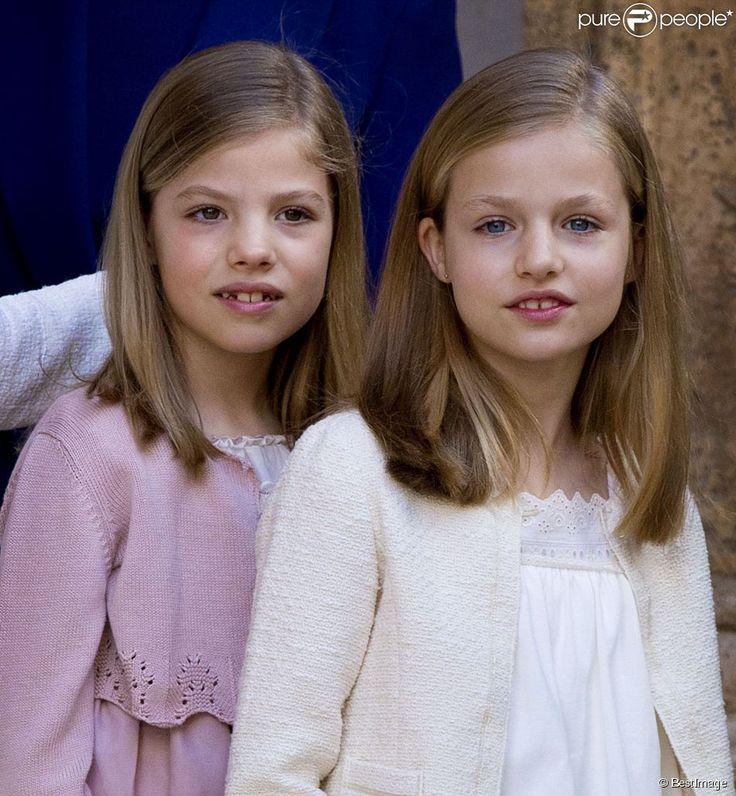 Leonor et Sofia ont brillé, pour leur première apparition depuis la fête nationale en octobre...