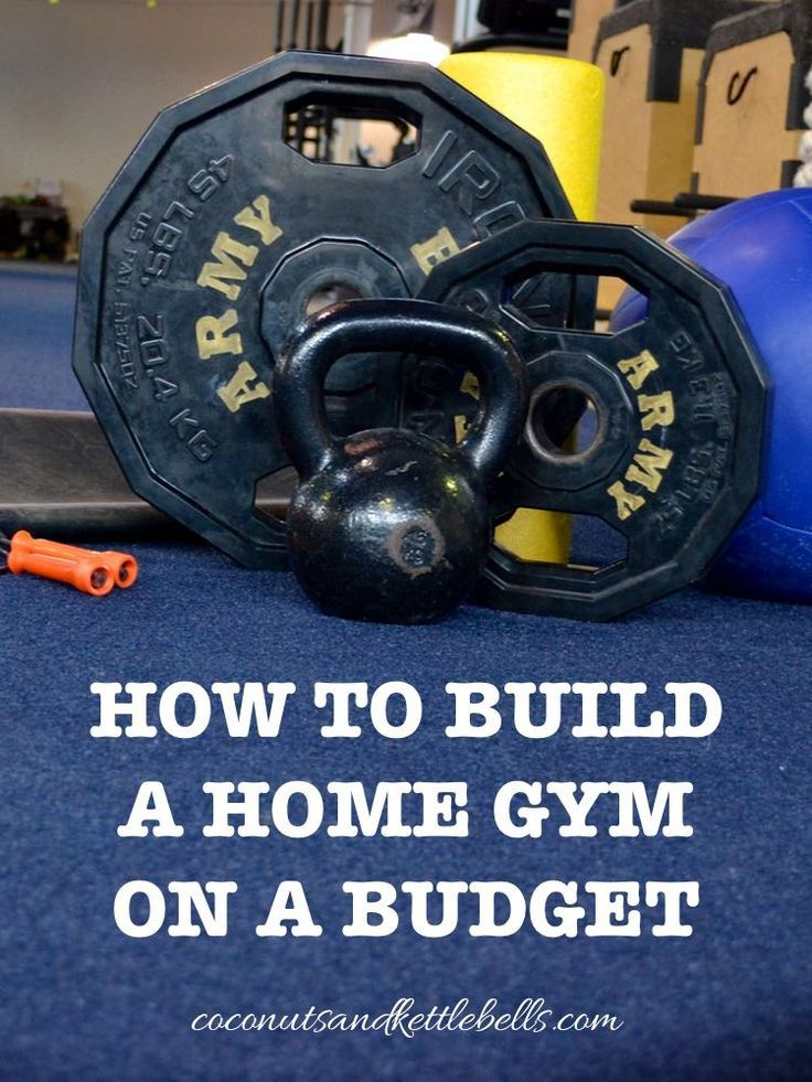 How to Build a Home Gym for Under $125 (Six versatile and efficient tools!) - Coconuts & Kettlebells save money at home, budget home decor #decor #budget
