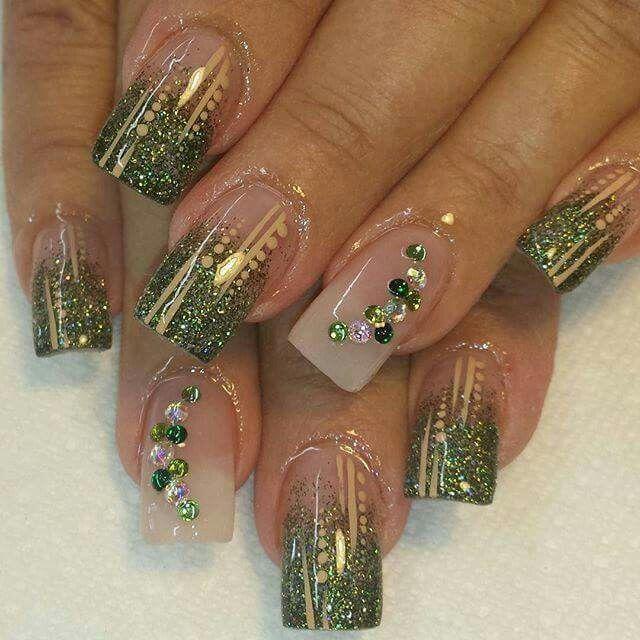 Money Green Nails Makeup Amp Nails Pinterest Beautiful