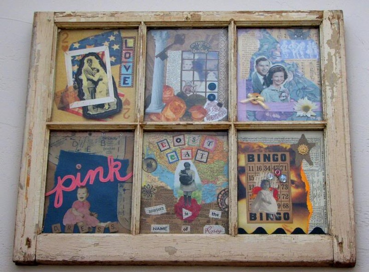 Old Windows: Old Window Frames, Idea, Old Windows, Vintage Window, Window Panes, Antiques Window, Old Window Projects, Pictures Frames, Old Window Art