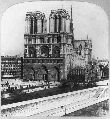 Notre Dame de #Paris vers 1900