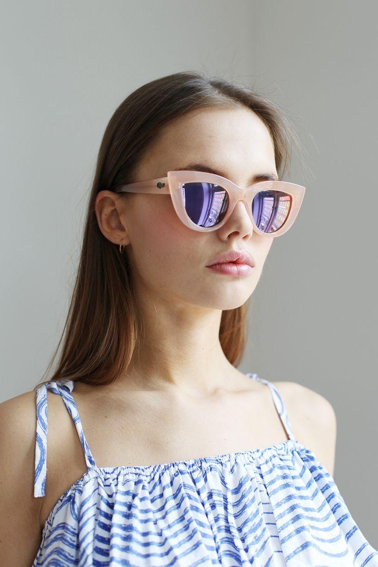 Quay Kitti Sunglasses Pink http://www.thewhitepepper.com/collections/eyewear/products/quay-kitti-sunglasses-pink