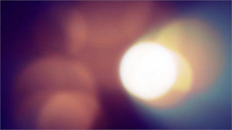 Passing bokeh lights motion background