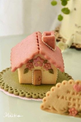 バレンタインにも!ミニクッキーハウス♪ by Maiko.E ...
