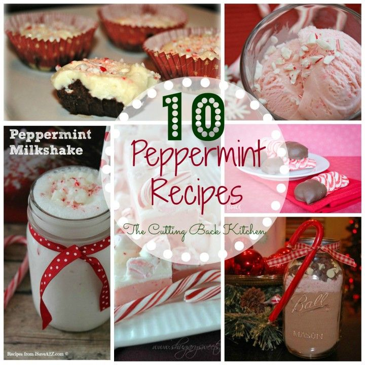 10 Delicious Peppermint Recipes