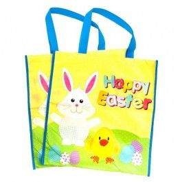 2 large bags in 1 pack. Great for giving gifts in this Easter.
