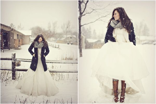 The problem is...I really would have originally loved the rustic winter wedding. And now I struggle to switch gears.