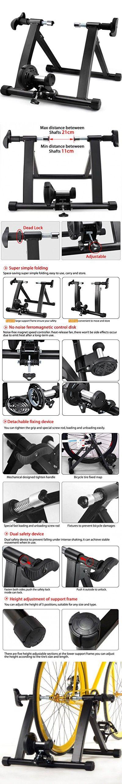 Gotobuy Magnet Steel Bike/bicycle Indoor Exercise Trainer Stand