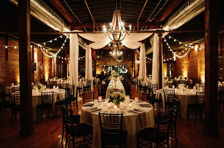 Most Beautiful Industrial Wedding Venues: Cannery Ballroom One by Amore Vita Photography
