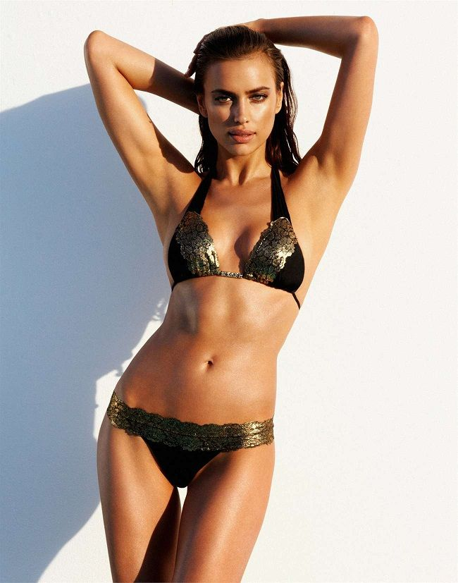 Beach Bunny Swimwear 2013 Lookbook featuring Irina Shayk