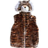 12 units of Kids Tiger Jacket With Hat