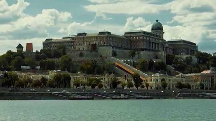 Public transport on the Danube, Budapest, Hungary.