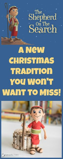*Shepherd on the Search - A New Christmas Tradition You Won't Want to Miss!* Looking for a way to keep the focus on Christ this Christmas, but still want all the fun build-up of something like the elf on a shelf phenomenon? Then get your hands on this fabulous resource - it's the best of both worlds! DaySpringSOTS