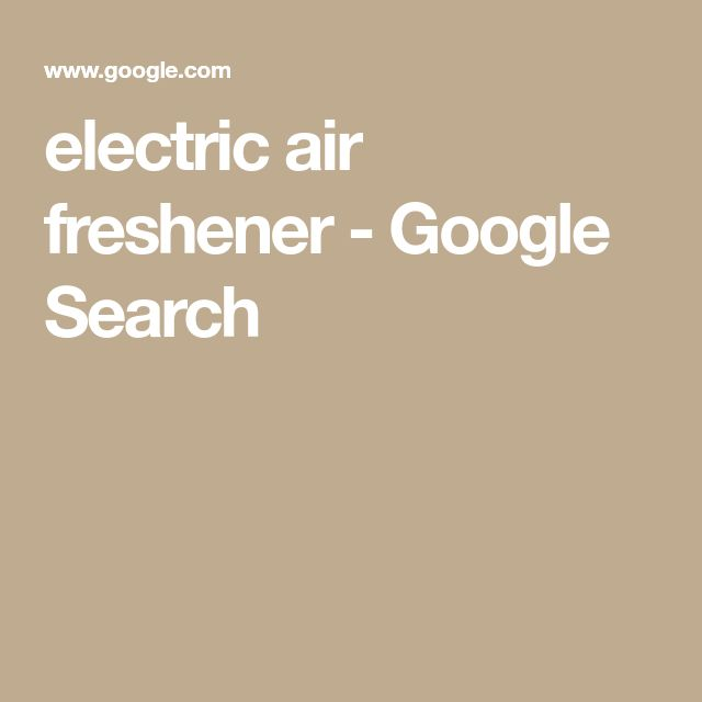 electric air freshener - Google Search