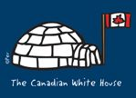 "Magnet - The Canadian White House - High Quality Magnet. 3.5"" x 2.5"". Made in Canada. $4.29"