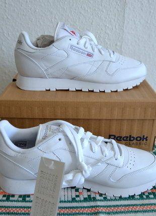 Kaufe meinen Artikel bei #Kleiderkreisel http://www.kleiderkreisel.de/damenschuhe/andere-sportschuhe/145975444-reebok-classic-white-weiss-39-neu
