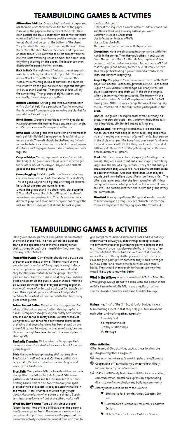 Best 25+ Team Building Exercises ideas on Pinterest | Fun team ...