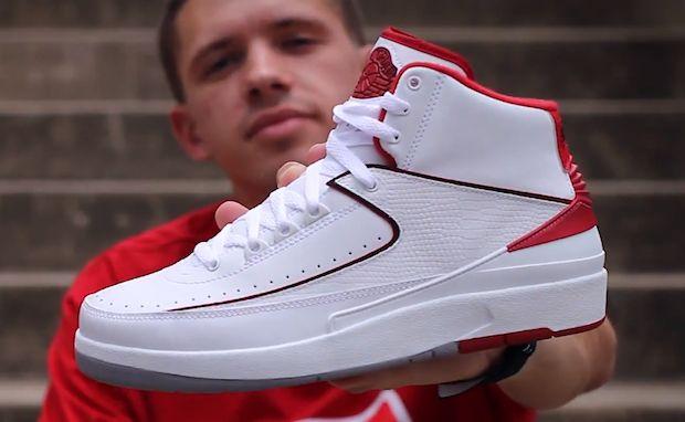 innovative design a16c5 dd044 ... #Unboxing: Air Jordan 2 White/Varsity Red -> http:// ...