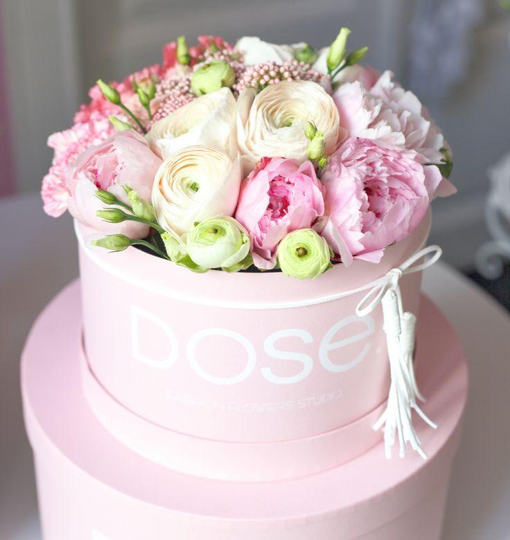 @yourdose.ru  #flowers #peony #ranunculus #pink #spring #flowerinbox