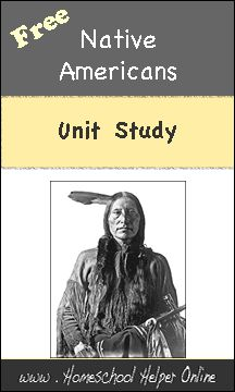 FREE Native Americans Unit Study Resource List  www.homeschoolgiveaways.com Free resources for a Native American unit study!