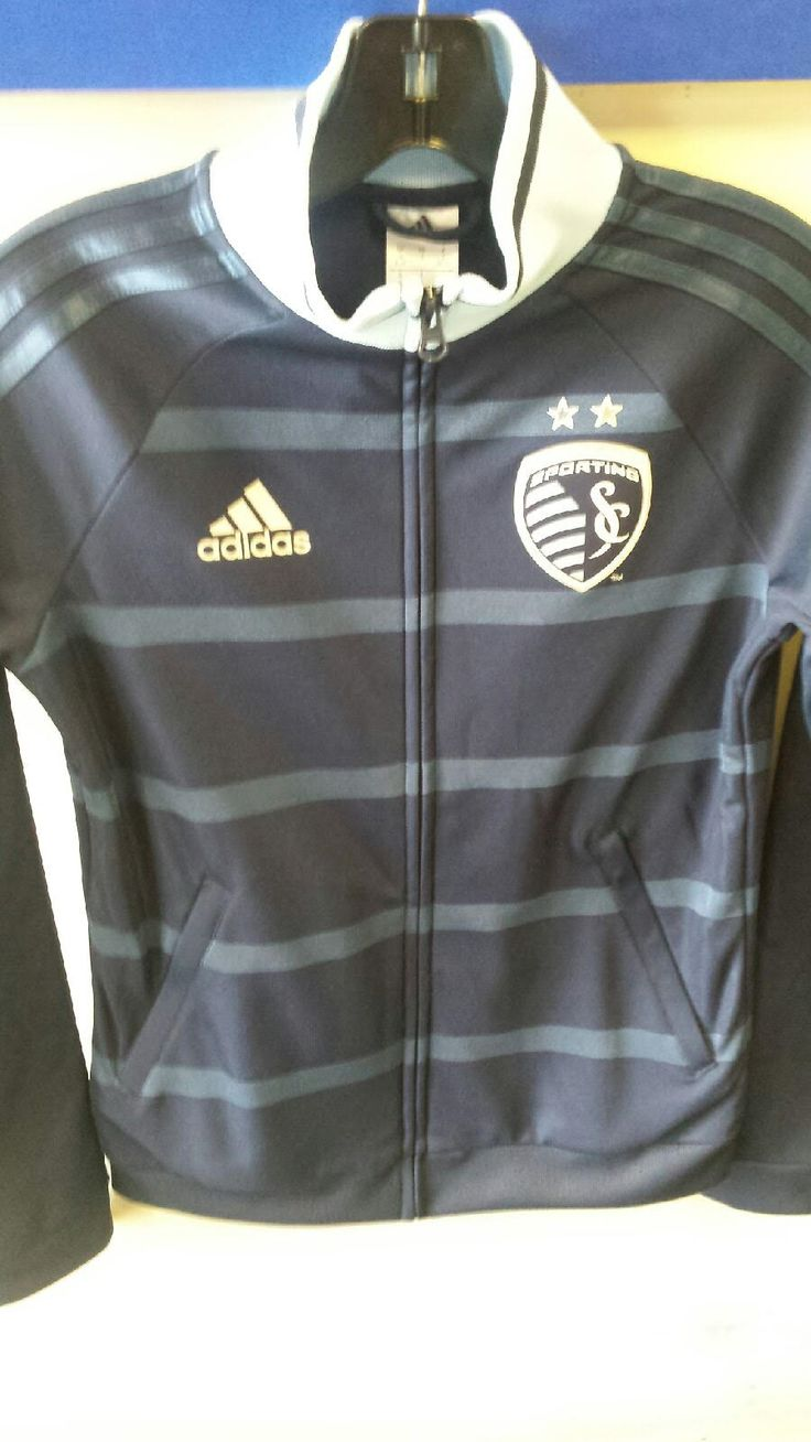 Sporting Kansas City Ladies Full Zip 2nd Kit Anthem Jacket by adidas