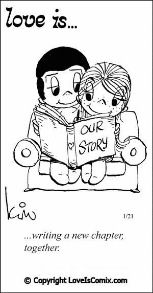 Love is comic from our wedding day 12-31-12! :)
