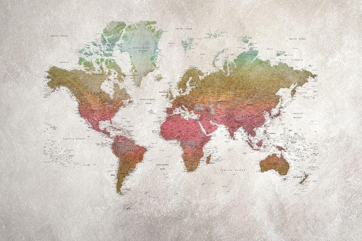School Atlas, Papel Pintado disponible en Latorre Decoración. https://www.facebook.com/latorredecora/