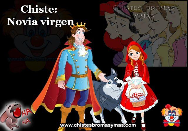 Una vez el Príncipe Azul estaba buscando esposa, y quería una esposa virgen.      Fue con Rapunzel le preguntó y ella dijo que si.