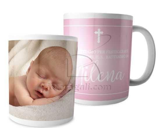 Tazza panoramica Baptism baby