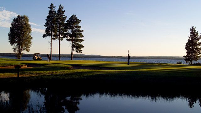 In Vuokatti there is also a good opportunities to golf