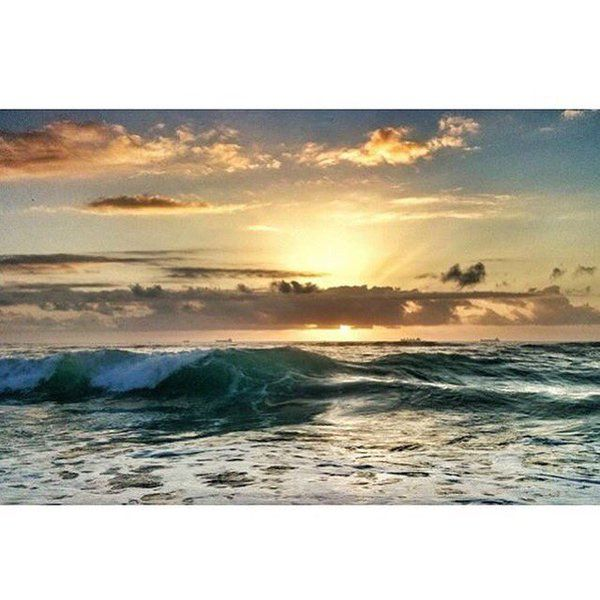 Durban sunrise. @ILuvDBN #Durban