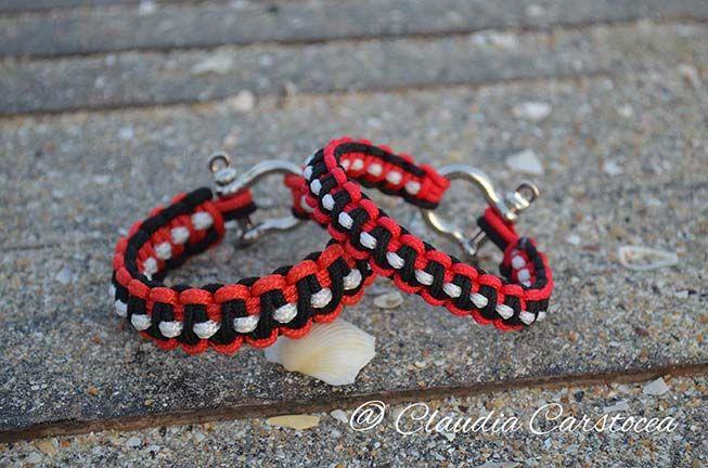 Handmade paracord nautical bracelets set https://www.alsor.ro/bratari/set-de-bratari-nautice-pentru-cupluri-rosu-cu-negru/ #nautical #paracord #set #bracelets #paracordbracelets #handmade