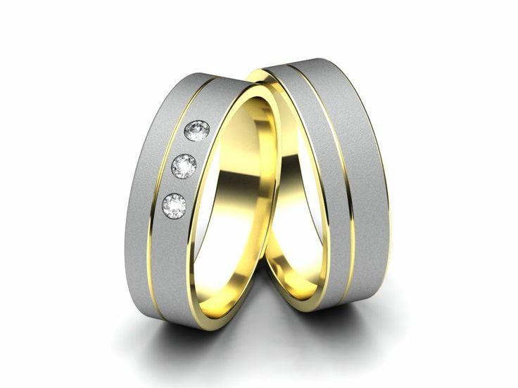 Snubní prsteny A2661  #aiola #wedding #rings