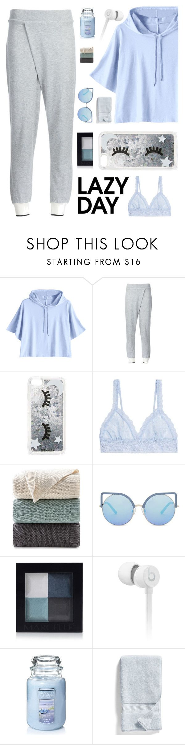 """dusk till dawn"" by verenagyuneth on Polyvore featuring rag & bone, Iphoria, Hanky Panky, Ink & Ivy, Matthew Williamson, Beats by Dr. Dre, Yankee Candle, Nordstrom and LazyDay"