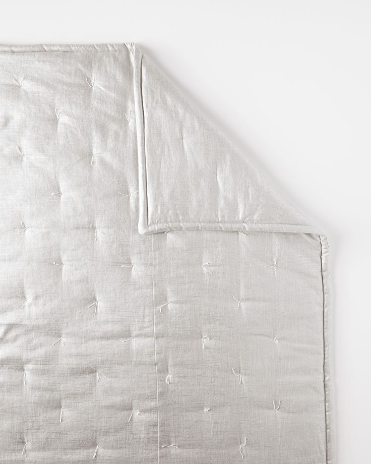 Metallic Linen QuiltMetallic Linen Quilt