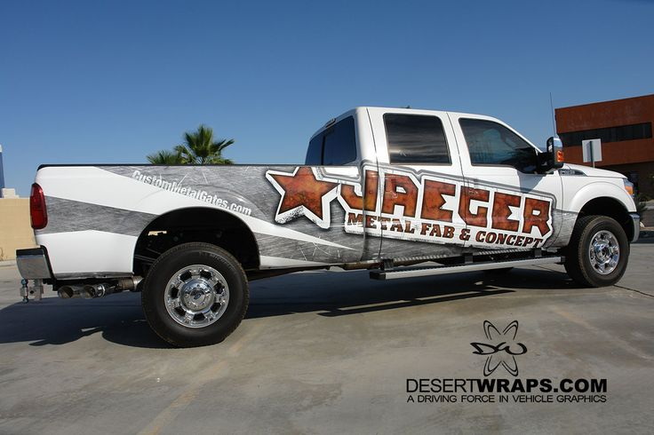 Worried a truck wrap won't stand up to tools and hard work being thrown at it? Come by our office and we will tell you how durable your wrap can be! #TruckWrap #Durable #Worktough