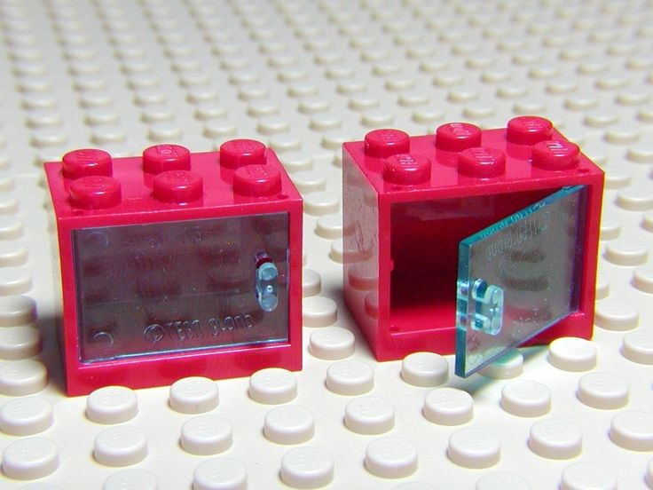 2 новый КРАСНЫЙ LEGO 2 X 3 X 2 шкаф контейнер шкаф комод коробка TRANS синий дверь | Игрушки и хобби, Конструкторы, Конструкторы LEGO | eBay!