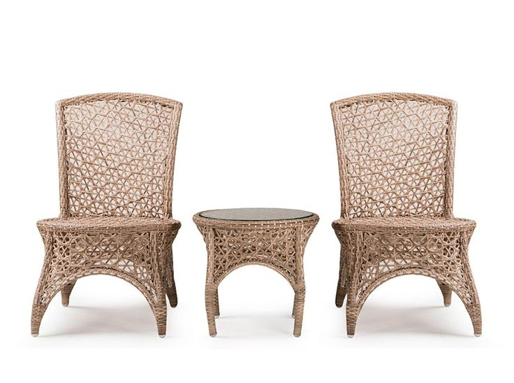 neptune defines classy garden and patio settings the intricate pattern of synthetic wicker fills the