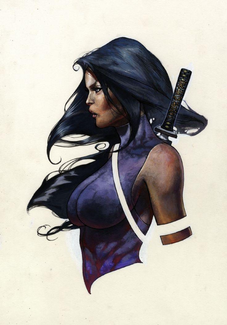 Psylocke - Simone Bianchi
