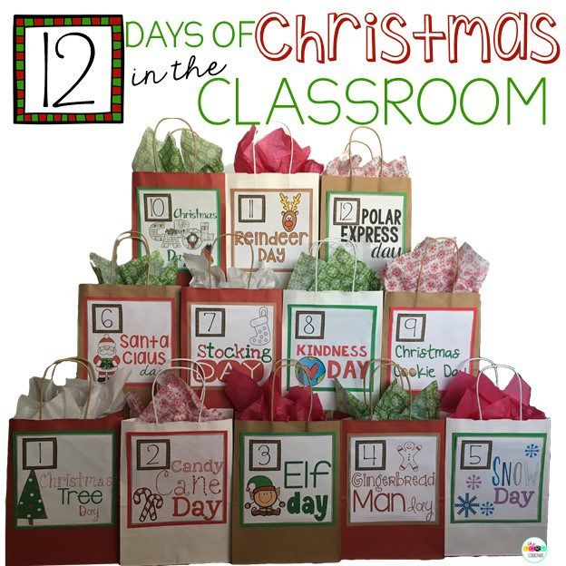 Grades 1, 2, and 3. 12 Days of Christmas in the Classroom by The Core Coaches