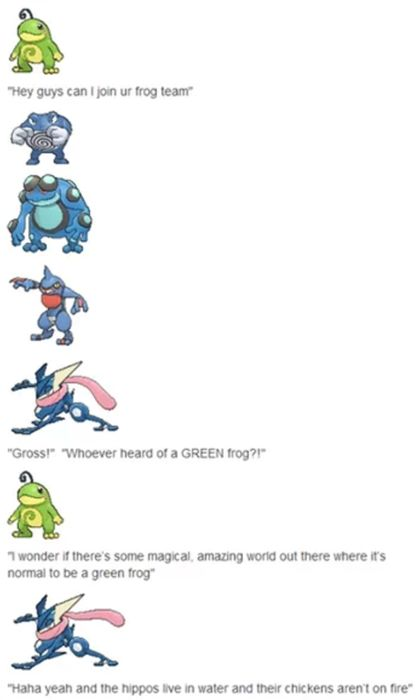 Technically, all of those are toads except for Poliwrath and the Shedinja.