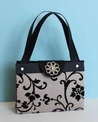 Just Julie B's Stampin' Space: Magnificient Mocha Morning Purse!