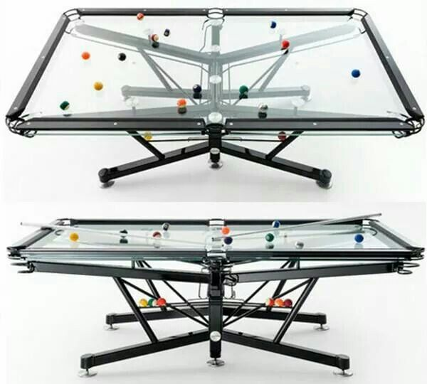 Transparent Billiards.