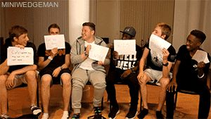 """imagine; the boys playing 'guess who' and simon writes down """"i have a crush on y/n"""""""