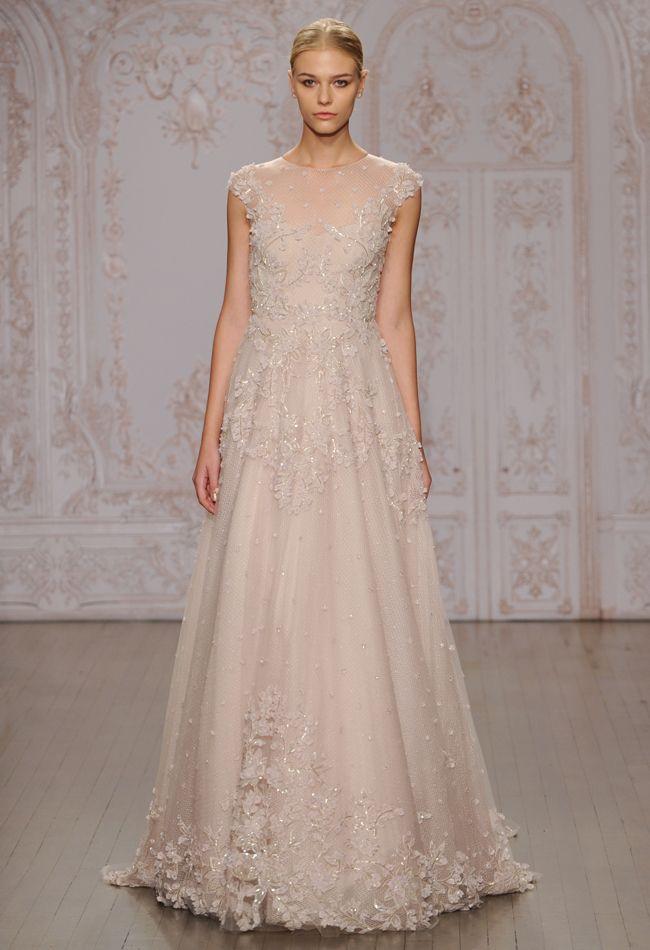 Primrose A-Line Wedding Dress | Monique Lhuillier Fall 2015 | blog.theknot.com
