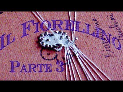 Encaje de Bolillos - La flor de Cantù Parte 3 - YouTube